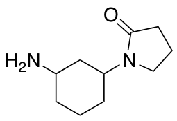 1-(3-Aminocyclohexyl)pyrrolidin-2-one