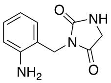 3-[(2-Aminophenyl)methyl]imidazolidine-2,4-dione