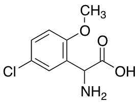 Amino(5-chloro-2-methoxyphenyl)acetic Acid