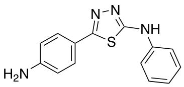 5-(4-Aminophenyl)-N-phenyl-1,3,4-thiadiazol-2-amine
