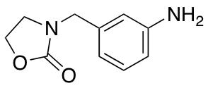 3-[(3-Aminophenyl)methyl]-1,3-oxazolidin-2-one