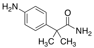 2-(4-Aminophenyl)-2-methylpropanamide