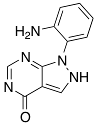 1-(2-Aminophenyl)-1H,4H,5H-pyrazolo[3,4-d]pyrimidin-4-one