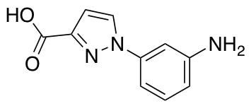 1-(3-Aminophenyl)-1H-pyrazole-3-carboxylic Acid