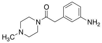 2-(3-Aminophenyl)-1-(4-methylpiperazin-1-yl)ethan-1-one
