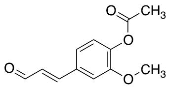 4-Acetoxy-3-methoxycinnamaldehyde