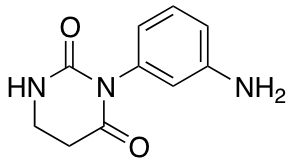 3-(3-Aminophenyl)-1,3-diazinane-2,4-dione