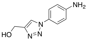 [1-(4-Aminophenyl)-1H-1,2,3-triazol-4-yl]methanol