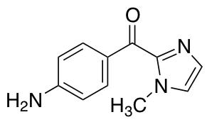 (4-Aminophenyl)(1-methyl-1H-imidazol-2-yl)methanone
