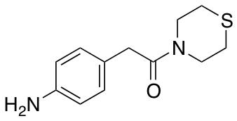 2-(4-Aminophenyl)-1-(thiomorpholin-4-yl)ethan-1-one