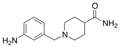 1-[(3-Aminophenyl)methyl]piperidine-4-carboxamide