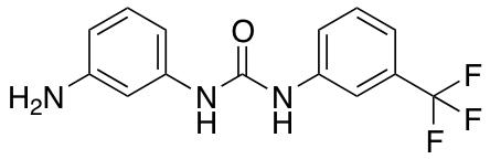 3-(3-Aminophenyl)-1-[3-(trifluoromethyl)phenyl]urea