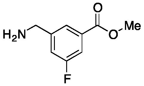 3-Aminomethyl-5-fluorobenzoic Acid Methyl Ester