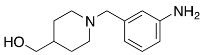 {1-[(3-Aminophenyl)methyl]piperidin-4-yl}methanol