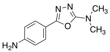 5-(4-Aminophenyl)-N,N-dimethyl-1,3,4-oxadiazol-2-amine