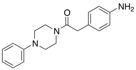 2-(4-Aminophenyl)-1-(4-phenylpiperazin-1-yl)ethan-1-one