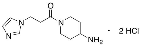 1-(4-Aminopiperidin-1-yl)-3-(1H-imidazol-1-yl)propan-1-one Dihydrochloride