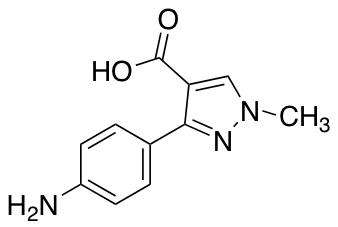 3-(4-Aminophenyl)-1-methyl-1H-pyrazole-4-carboxylic Acid