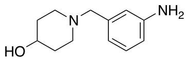 1-[(3-Aminophenyl)methyl]piperidin-4-ol