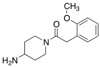 1-(4-Aminopiperidin-1-yl)-2-(2-methoxyphenyl)ethan-1-one