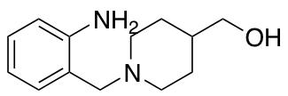 {1-[(2-Aminophenyl)methyl]piperidin-4-yl}methanol