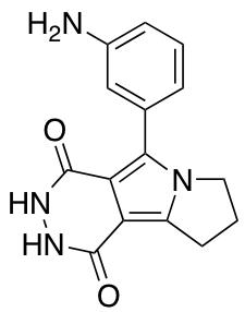 5-(3-Aminophenyl)-1H,2H,3H,4H,7H,8H,9H-pyridazino[4,5-a]pyrrolizine-1,4-dione