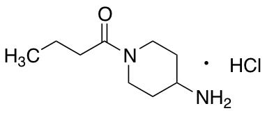 1-(4-Aminopiperidin-1-yl)butan-1-one Hydrochloride