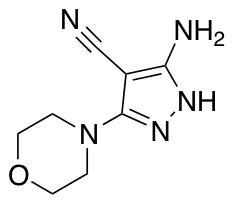 5-Amino-3-(morpholin-4-yl)-1H-pyrazole-4-carbonitrile