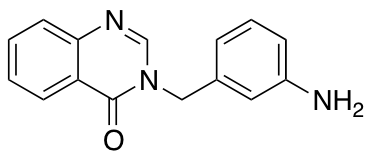 3-[(3-Aminophenyl)methyl]-3,4-dihydroquinazolin-4-one
