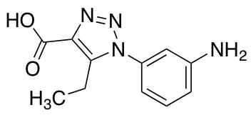 1-(3-Aminophenyl)-5-ethyl-1H-1,2,3-triazole-4-carboxylic Acid