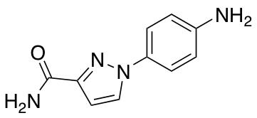 1-(4-Aminophenyl)-1H-pyrazole-3-carboxamide