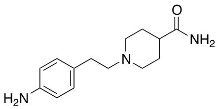 1-[2-(4-Aminophenyl)ethyl]piperidine-4-carboxamide