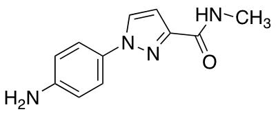 1-(4-Aminophenyl)-N-methyl-1H-pyrazole-3-carboxamide