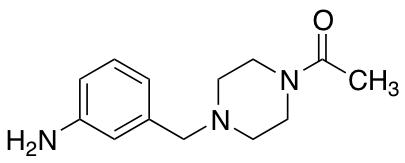 1-{4-[(3-Aminophenyl)methyl]piperazin-1-yl}ethan-1-one