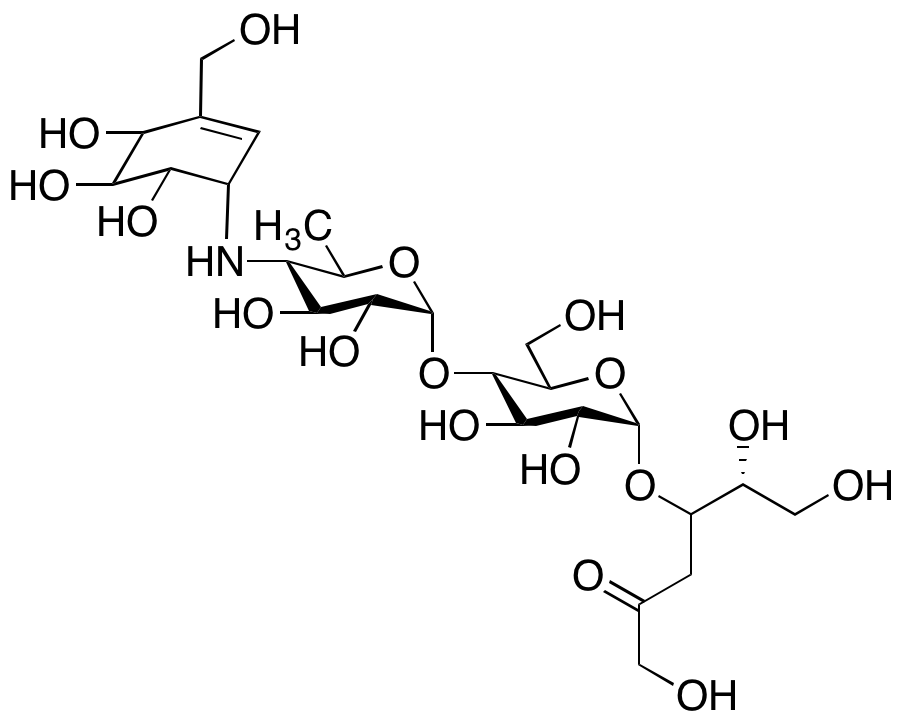 Acarbose D-(3-Dehydroxy)-fructose Impurity