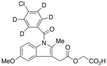 Acemetacin-d4