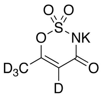 Acesulfame-d4 Potassium Salt