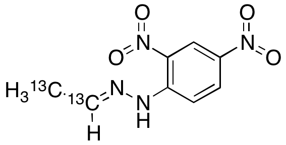 Acetaldehyde-13C2 2,4-Dinitrophenylhydrazone