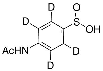 4-Acetamidobenzenesulphinic Acid-d4
