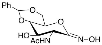 2-Acetamido-4,6-O-benzylidene-2-deoxy-D-gluconohydroximo-1,5-lactone