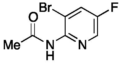 2-Acetamido-3-bromo-5-fluoropyridine