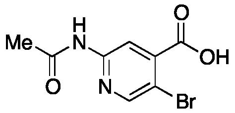 2-Acetamido-5-bromoisonicotinic Acid