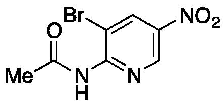 2-Acetamido-3-bromo-5-nitropyridine