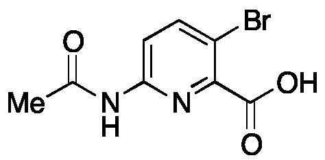 6-Acetamido-3-bromopicolinic Acid