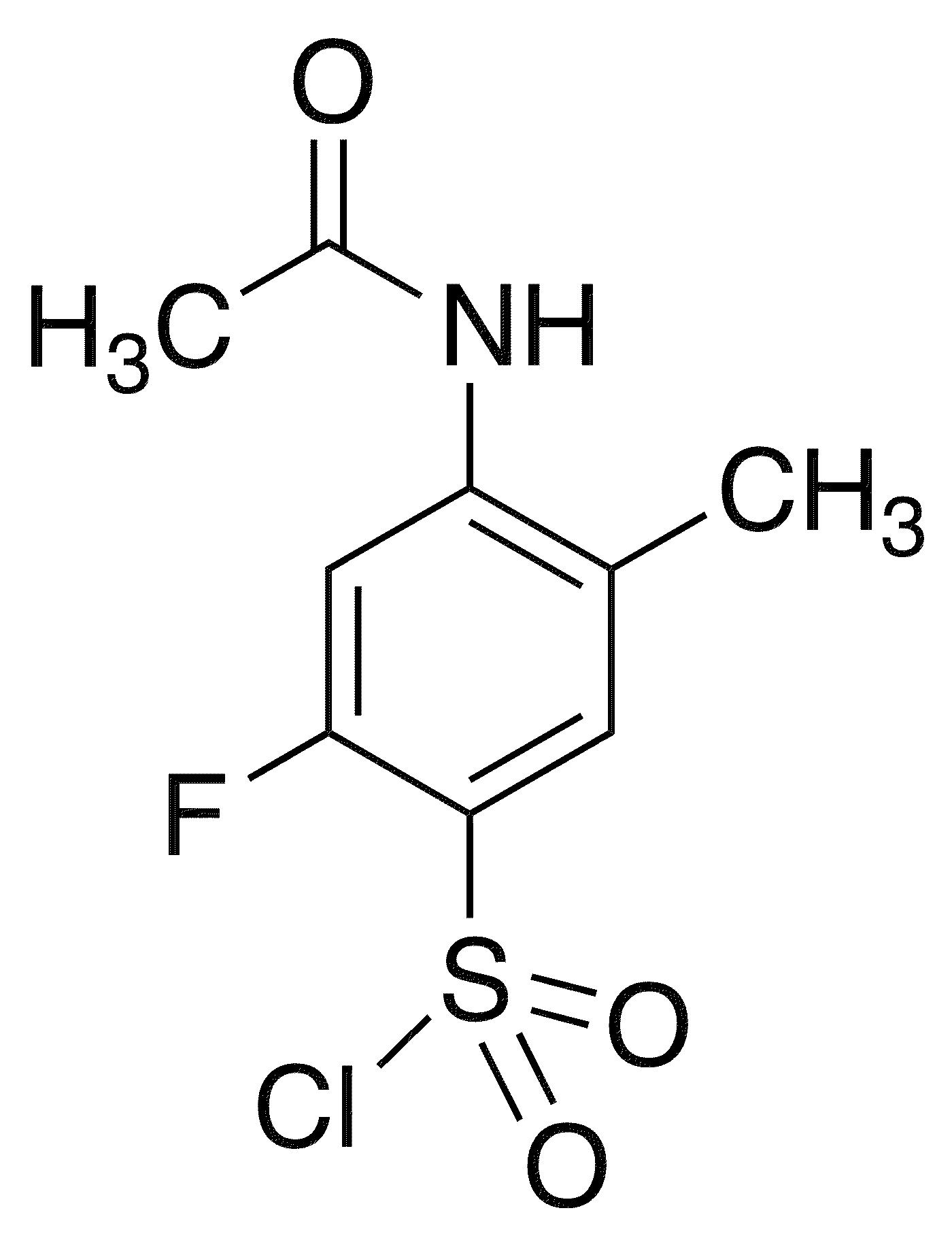 4-Acetamido-2-fluoro-5-methylbenzenesulfonyl chloride