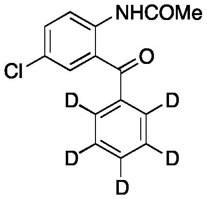 2-Acetamido-5-chlorobenzophenone-d5