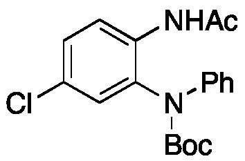 (2-Acetamido-5-chlorophenyl)(phenyl)carbamic Acid tert-Butyl Ester