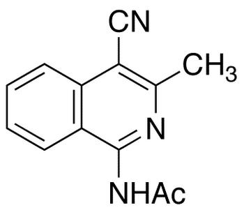 1-Acetamido-4-cyano-3-methylisoquinoline