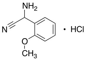 2-amino-2-(2-methoxyphenyl)acetonitrile hydrochloride