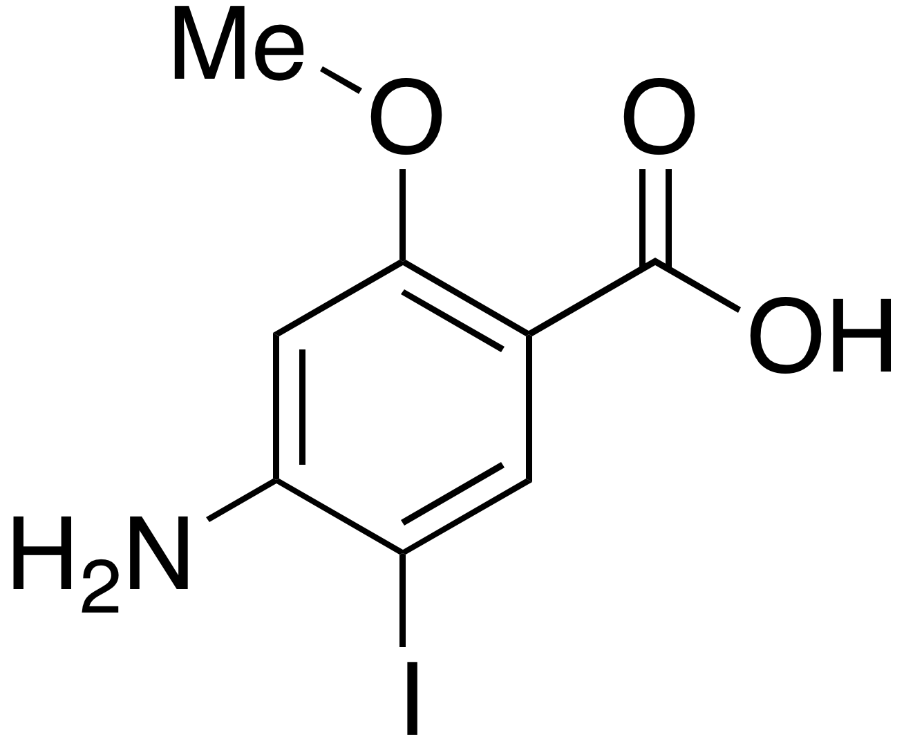 4-Amino-5-iodo-2-methoxybenzoic Acid